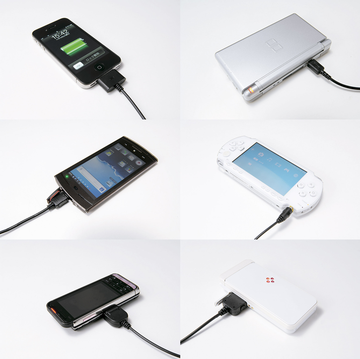 USB&車deチャージ!マルチコネクター